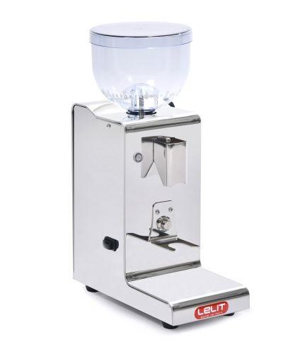 Lelit Fred PL044MMT Kaffeemühle mit automatischer Dosierung für 1 2 Tassen-Edelstahl-Gehäuse-Mikro-r