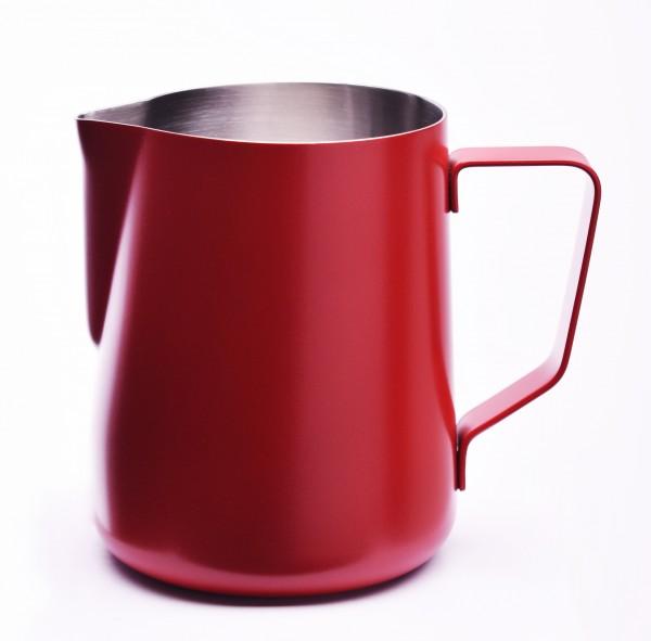 JOEFREX Milchkännchen mit Pulverbeschichtung Rot
